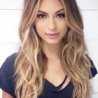 Hairstyles long hair 2017