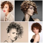 Short curly hairstyles for women 2017