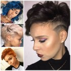 Short new hairstyles 2017