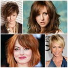 Trendy hairstyles for 2017