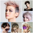 Trendy short womens hairstyles 2017