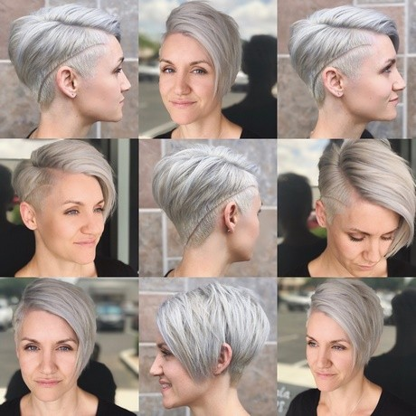 2018 short hairstyles for women over 40