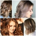 Hairstyle and color 2018