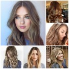 Hairstyles and color 2018