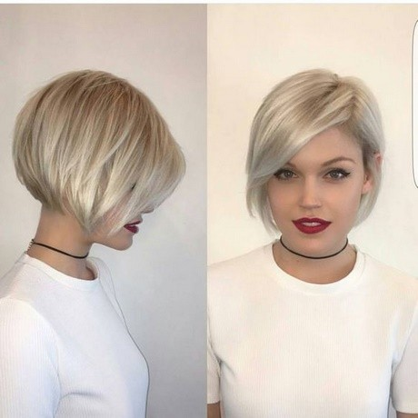 Short haircuts for fall 2018
