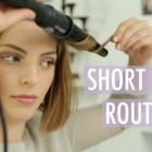 Best way to style short hair