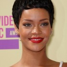 Black short pixie haircuts