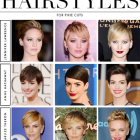 Different pixie cut styles