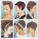 Different pixie styles