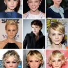 From pixie to long hair