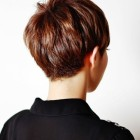 Pixie cut back