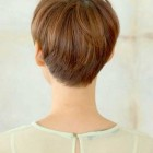 Pixie haircut from behind