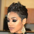 Pixie hairstyles for black hair