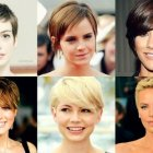 Pixie type haircuts
