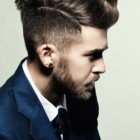 Short long hairstyles for men