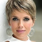 Short pixie hair cut