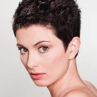 Short pixie hairstyles for curly hair