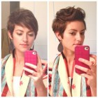 Styling pixie cut