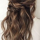 2019 half up hairstyles
