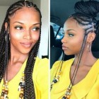 Braided hairstyles black hair 2019