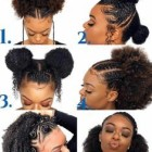 Cute black hairstyles 2019