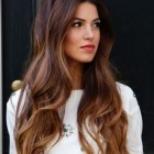 Hairstyles for long hair with bangs 2019