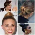 Latest hairdos for 2019