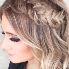Prom hairstyles for short hair 2019