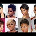 Short black haircuts for women 2019