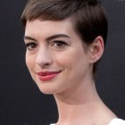 Anne hathaway short haircut
