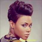 Black girl short hairstyles