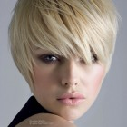 Short hairstyles with fringe