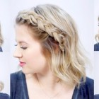 1 minute hairstyles for short hair