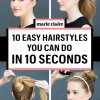 10 easy hairstyles for everyday