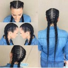 2 braid hairstyles