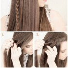 5 hairstyles in 5 minutes