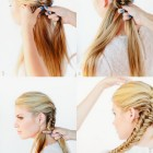 6 hairstyles for lazy girls