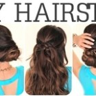 6 hairstyles for lazy women