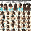 6 hairstyles for school
