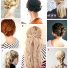 8 easy hairstyles
