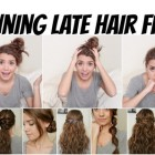 8 quick hairstyles