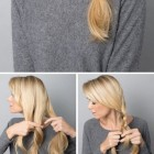 9 easy hairstyles