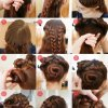 Cute and easy updos for thick hair