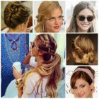 Cute casual updos for long hair
