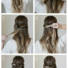Daily easy hairstyles
