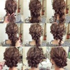 Easy cute updos for long hair