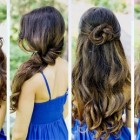 Easy hairstyles for straight hair