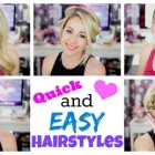 Easy hairstyles zoella
