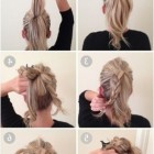 Easy long hair updos casual