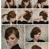 Easy side updos for long hair